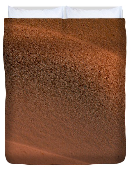 Sand In Sahara Duvet Cover