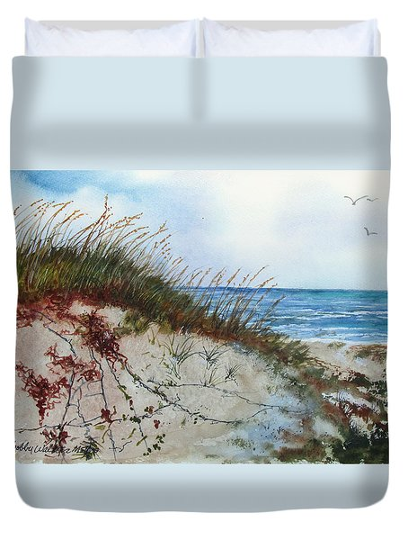 Sand Mount Duvet Cover