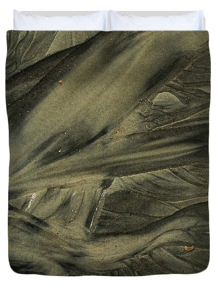 Sand Patterns Myths Of The Ages Duvet Cover