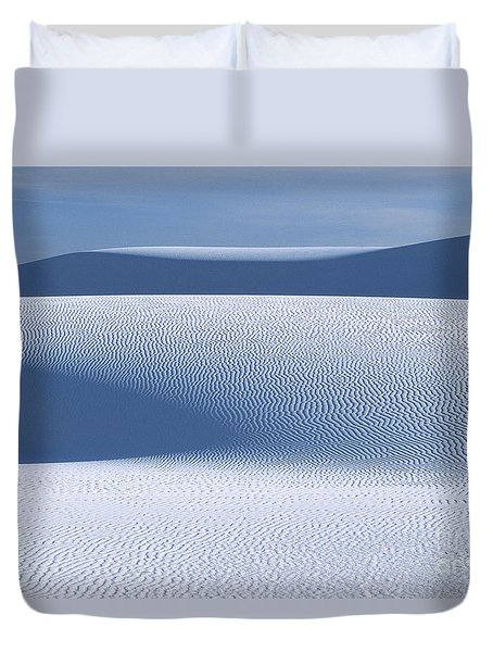 Duvet Cover featuring the photograph Sand Patterns by Sandra Bronstein
