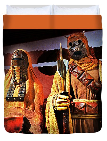Sand People Duvet Cover