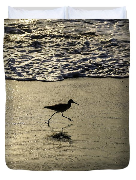 Sand Piper Dash Duvet Cover