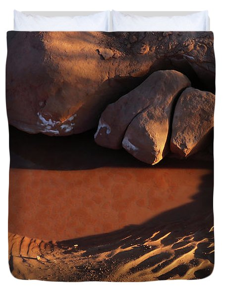 Sand Puddle Duvet Cover