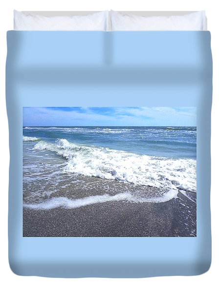 Sand, Sea, Sun No. 1 Duvet Cover