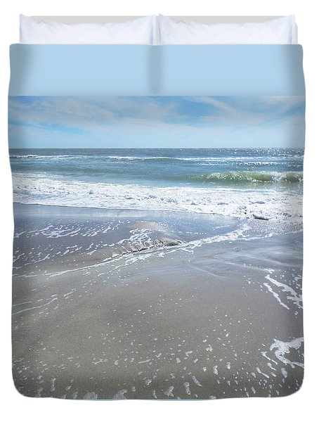 Sand, Sea, Sun, No. 3 Duvet Cover