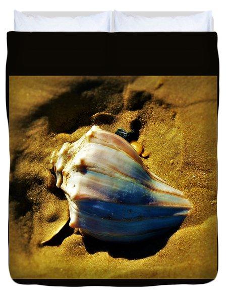 Sand Shell Duvet Cover