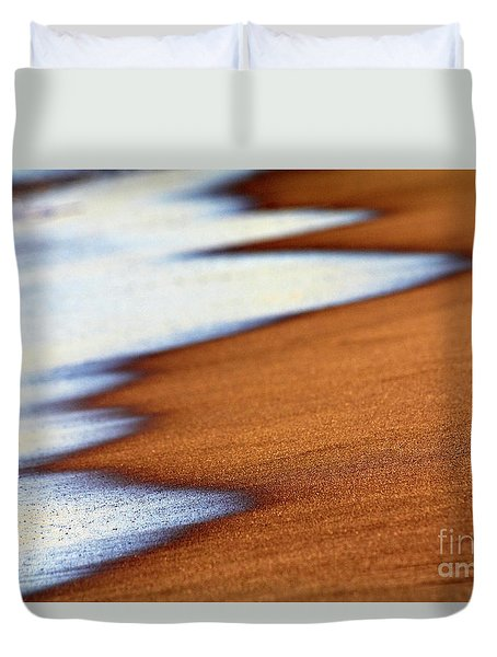 Sand And Waves Duvet Cover