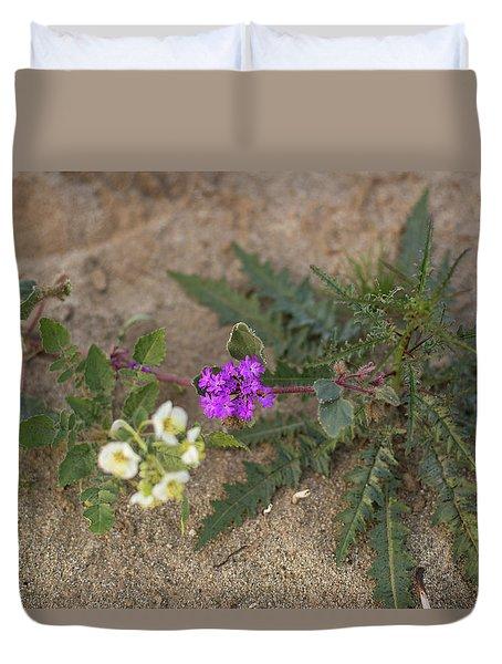 Sand Verbena Sunset Duvet Cover