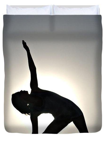 Sand Yoga Duvet Cover