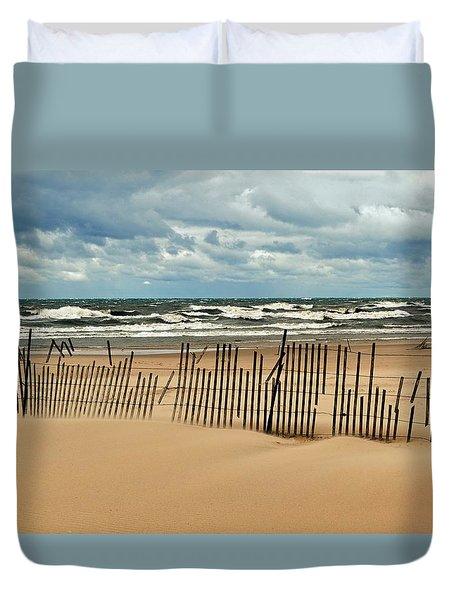 Sandblasted Duvet Cover by Michelle Calkins