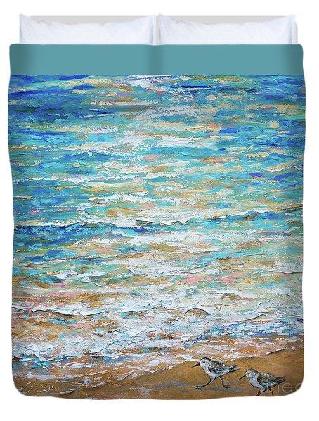 Sanderlings Duvet Cover