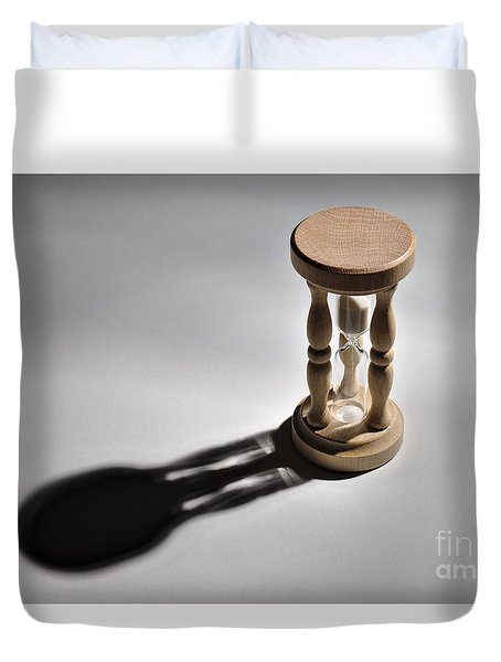 Sandglass Counting Duvet Cover