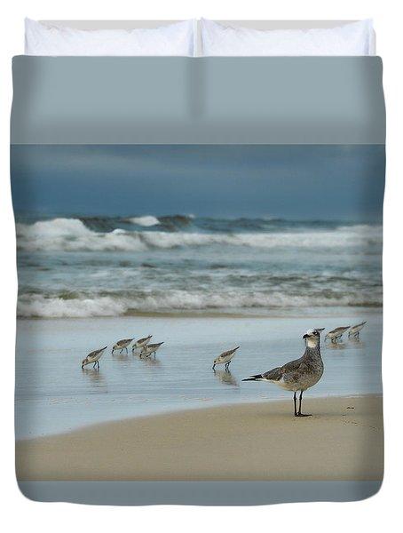 Sandpiper Beach Duvet Cover