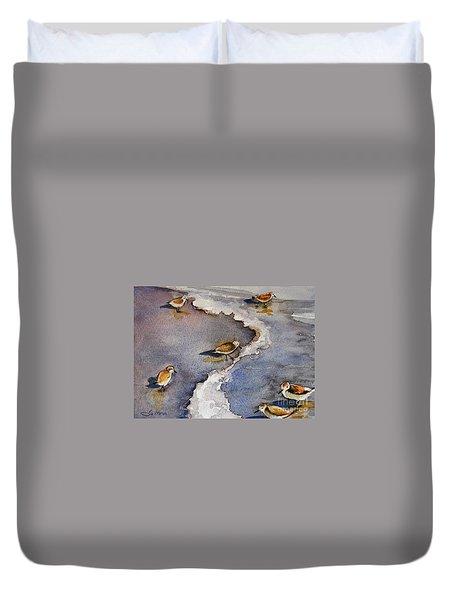 Sandpiper Seashore Duvet Cover