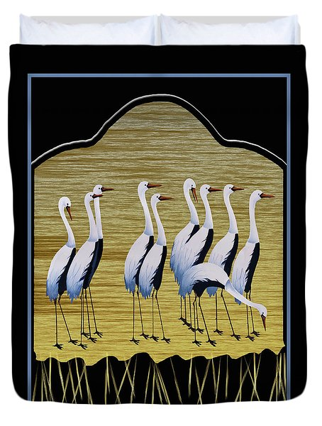 Sandpipers Duvet Cover