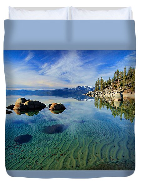 Sands Of Time 2 Duvet Cover by Sean Sarsfield