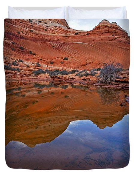 Sandstone Pools Duvet Cover by Mike  Dawson