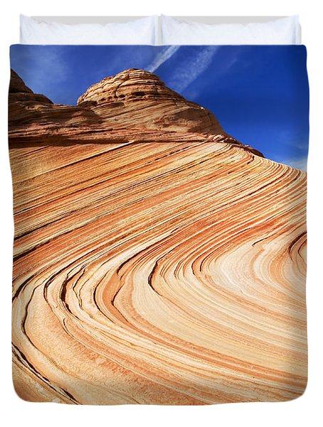 Sandstone Slide Duvet Cover