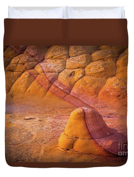 Sandstone Snail Duvet Cover