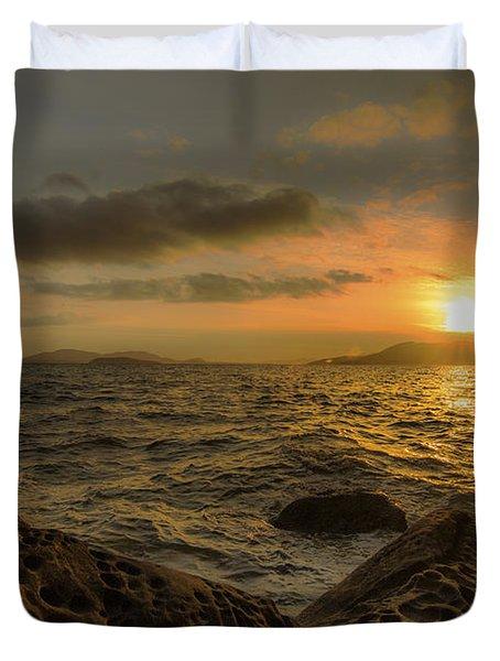 Sandstone Sunlight Duvet Cover