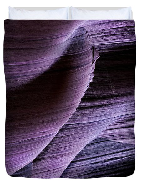 Sandstone Symphony Duvet Cover by Mike  Dawson