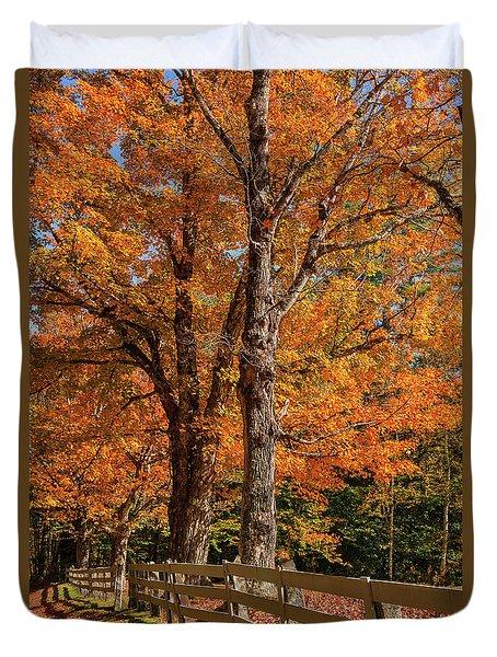 Sandwich Autumn Duvet Cover
