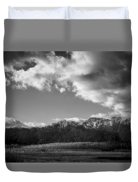 Sandwich Marsh Duvet Cover