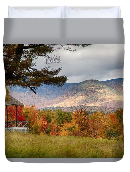 Sandwich Mountain Range Duvet Cover