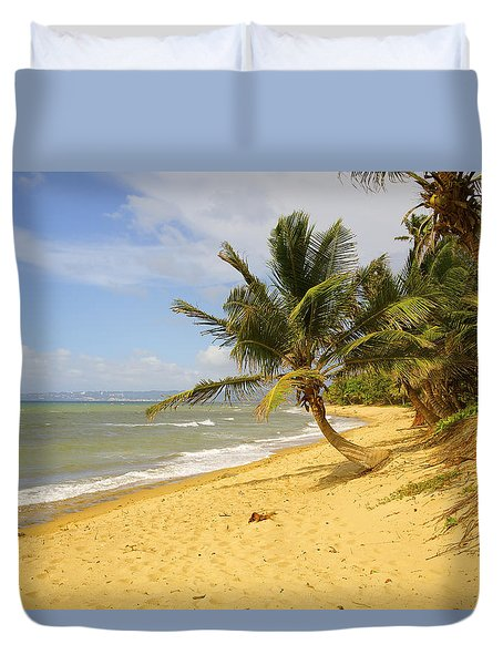 Sandy Beach II Duvet Cover