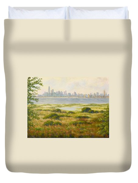 Sandy Hook View Duvet Cover