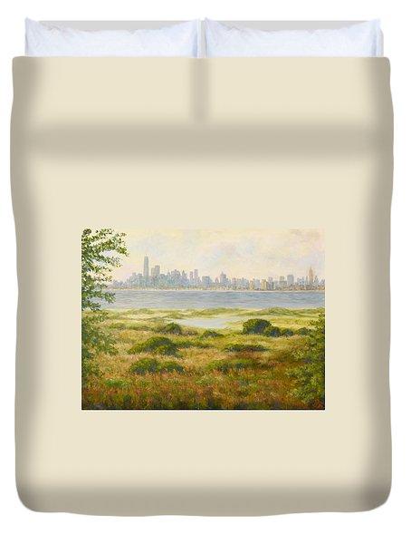 Sandy Hook View Duvet Cover