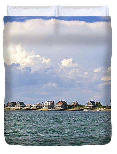 Sandy Neck Cottage Colony Duvet Cover