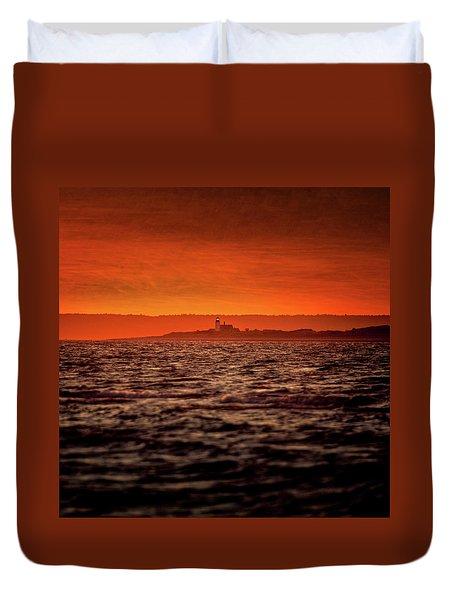Sandy Neck Light Duvet Cover