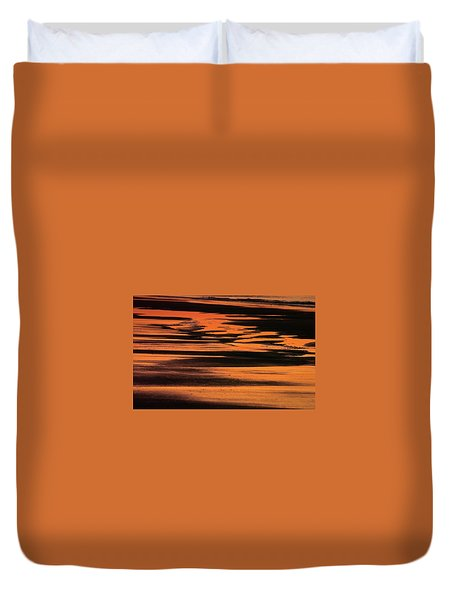 Sandy Reflection Duvet Cover