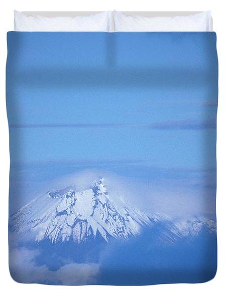 Sangay Volcano Ecuador Duvet Cover