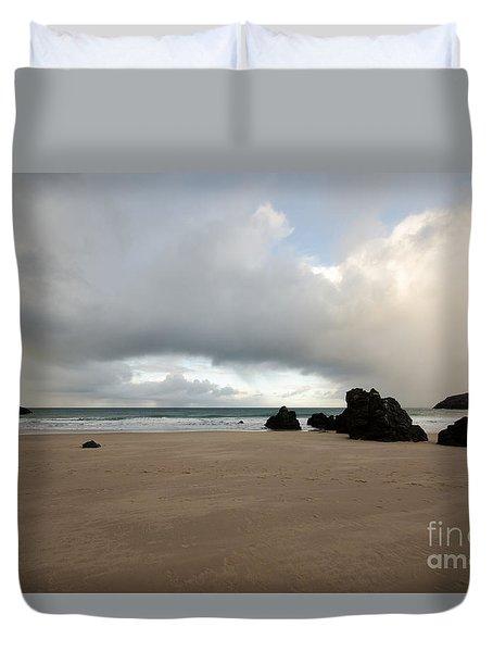 Sango Beach, Durness Duvet Cover