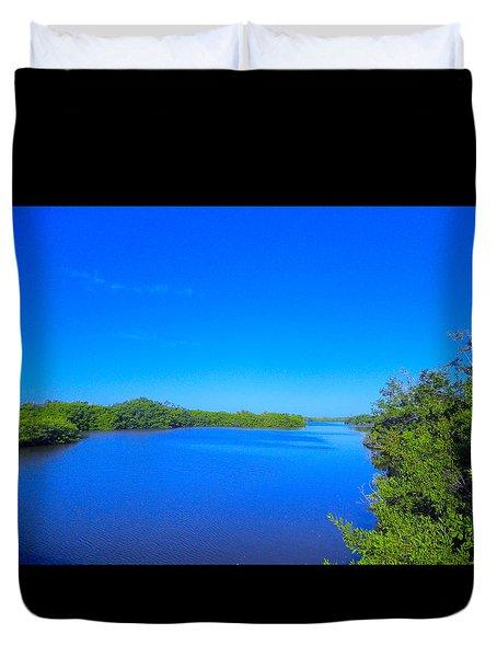 Sanibel Island, Florida Duvet Cover