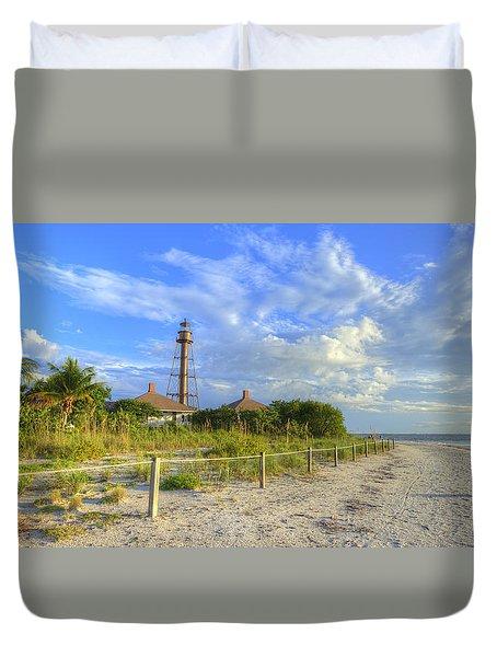 Sanibel Light House Duvet Cover