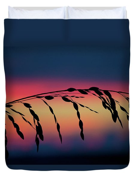 Sanibel Sea Oats Duvet Cover