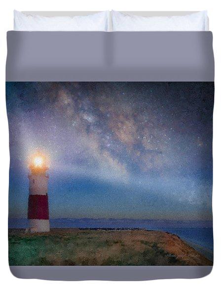 Sankaty Head Light, Nantucket Duvet Cover