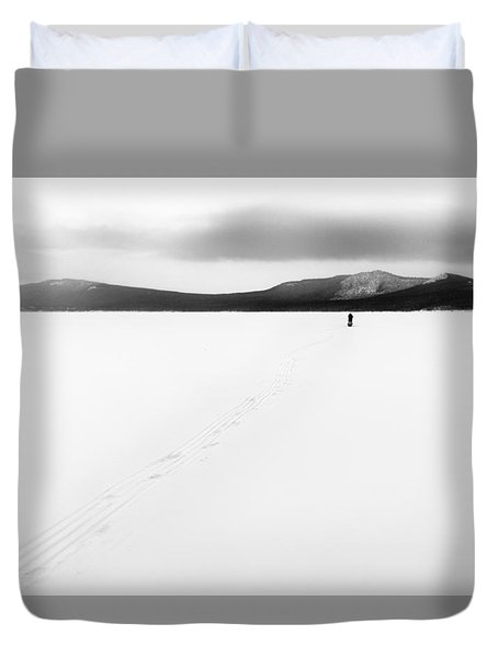 Sannikov Land Duvet Cover by Hayato Matsumoto