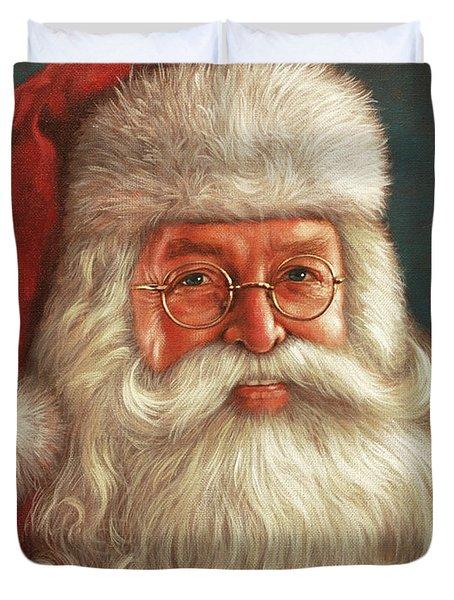 Santa 2017 Duvet Cover