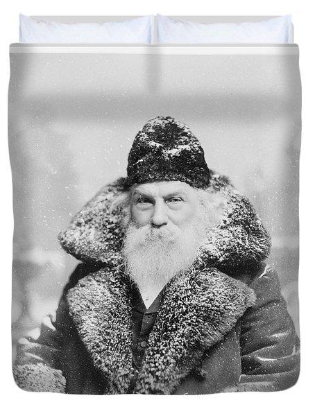 Santa Claus Duvet Cover by David Bridburg