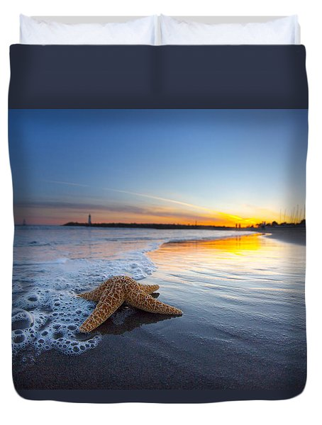 Santa Cruz Starfish Duvet Cover