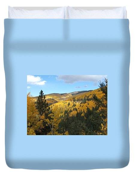 Santa Fe Autumn View Duvet Cover