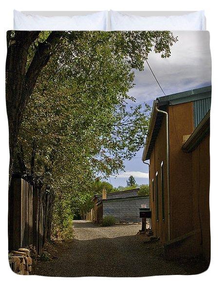 Santa Fe Road Duvet Cover by Madeline Ellis