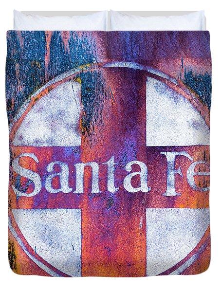 Santa Fe Rr Duvet Cover