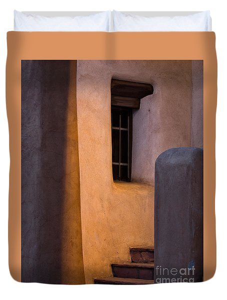 Santa Fe Steps Duvet Cover