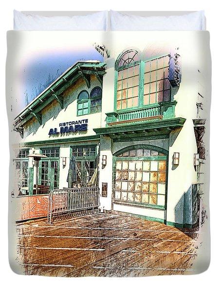 Santa Monica Pier Ver 2 Duvet Cover