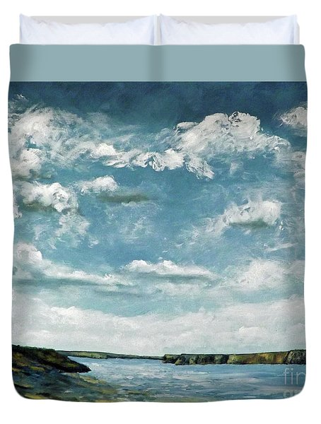 Santa Rosa Lake 1 Duvet Cover